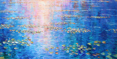 Richard Ponder, 'Lilies in the Late Light', 2019