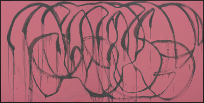 Michael Müller, 'Was bleibt (grey on pink, Madrid)', 2015