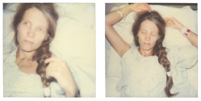 Stefanie Schneider, 'Sleep (Burned), diptych', 1999