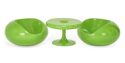 Eero Aarnio, 'Eero Arnio For Adelta Child's Table And Chairs', 2000s