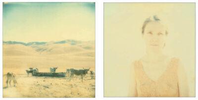 Stefanie Schneider, 'Oilfields, diptych', 2004