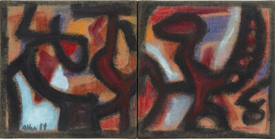 Jean-Michel Atlan, 'Diptyque', 1959