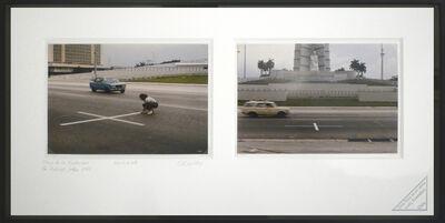 Lotty Rosenfeld, ' Plaza de la Revolución', 1985