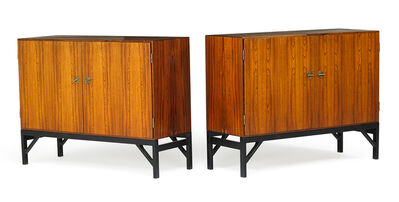 Börge Mogensen, 'Pair of cabinets (no. 232)', 1940s