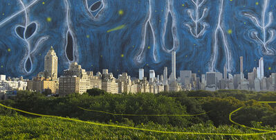 Carlos Rodal, 'Nocturne of the Jungle over Central Park', 2019