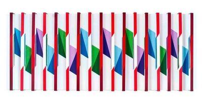 Juvenal Ravelo, 'Fragmentacion de la luz y el color ', 2016