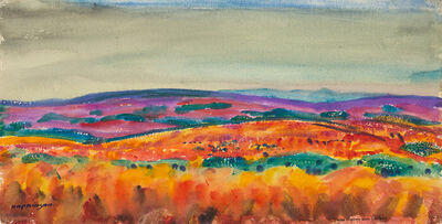 Charles Hopkinson, 'Colorful Fields, Naushon', 19th -20th Century