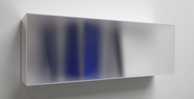 Rita Rohlfing, 'Blue and white color space', 2017