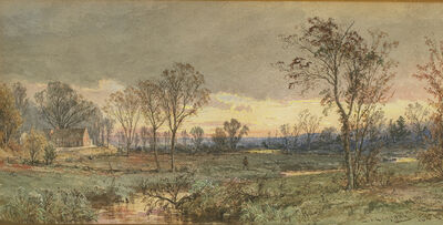 Jasper Francis Cropsey, 'Twilight on the Sawmill River', 1887