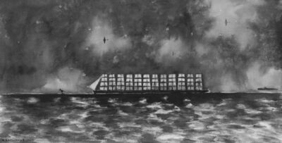 "Konstantin Batynkov, '""Running on waves""1', 2005"