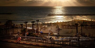 David Drebin, 'Girl in Tel Aviv', 2011