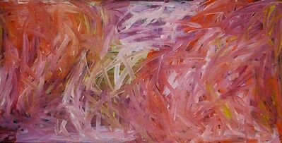 Emily Kame Kngwarreye, 'Grass Seeds Red', 1996