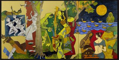 M. F. Husain, 'Traditional Indian Festivals', 2008-2011
