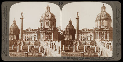 Bert Underwood, 'Trajan's forum and column, Rome', 1900