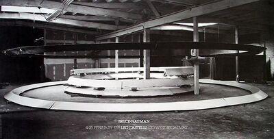 Bruce Nauman, 'Installation at Leo Castelli's', 1978