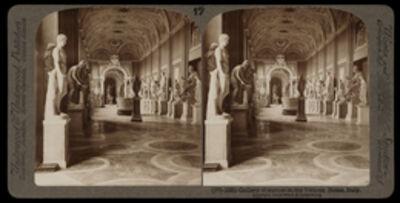 Bert Underwood, 'Gallery of statues in the Vatican', 1900