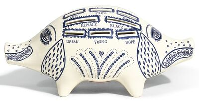 Grayson Perry, 'BREXIT PIGGY BANK', 2017