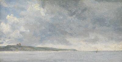 John Constable, 'Coastal Scene with Cliffs', ca. 1814