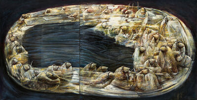 Li Hu, 'Journey of Silence No.3', 1994