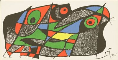 Joan Miró, 'From Miro Sculpteur', 1974