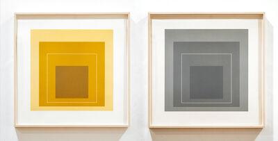 Josef Albers, 'White Line Squares (Series II)', 1966