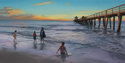 Scott Prior, 'Sunset, Naples Pier', 2018