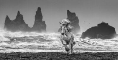David Yarrow, 'White Horses', ca. 2018