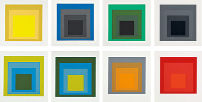 Josef Albers, 'Formulation and Articulation I and II', 1972