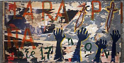 Mimmo Rotella, 'La rapina', 1967