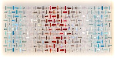 Amy Cushing, 'Amy Cushing, Untitled (Blue, Silver, Red), UK, 2015'