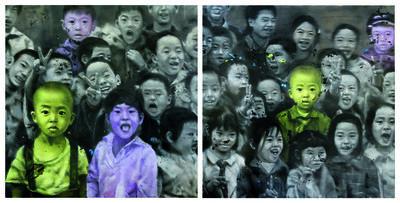 Li Tianbing, 'Ensemble # 1 + 2', 2008
