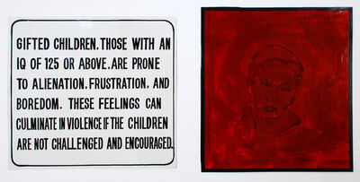 Jenny Holzer, 'The Living Series (Gifted Children)', 1981