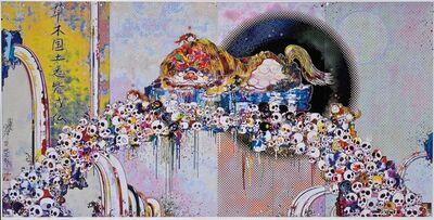 Takashi Murakami, 'As the Interdimensional Waves run through me...', 2012