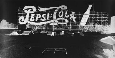 Vera Lutter, 'Small Logo, Pepsi Cola: September 8', 2003