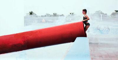 Eva Blanch, 'Tubo rojo', 2019