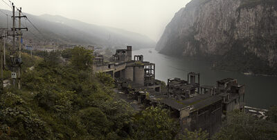 He Xingyou, 'Abandoned Factory along Wu River'