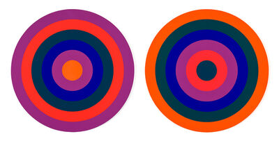 Claude Tousignant, 'Double 66', 1969