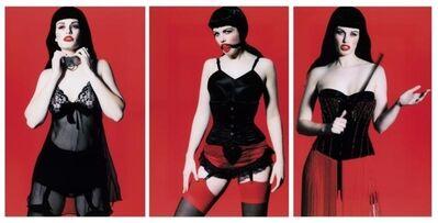 Marc Lagrange, 'Betty Page Trilogy (triptych)', 2008