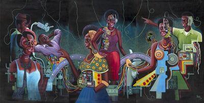 Monsengo Shula, 'Untitled - Triptych ', 2014