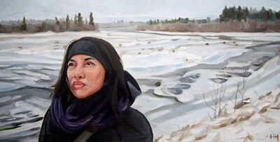 Heather Horton, 'Mia, Yukon River', 2013