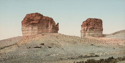 William Henry Jackson, ' Utah. The Giant's Club and Kettle, Green River,', 1898