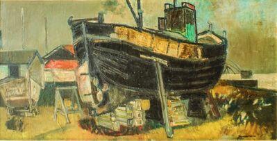 Paul Guiramand, 'Shipyard', ca. 1955
