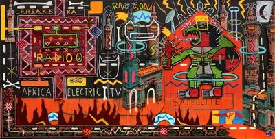 Philippe Jacq, 'Africa Electric TV', 2019