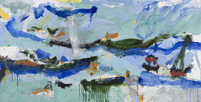 Ann Thomson, 'Water Poised Above Water', 2014