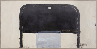 Antoni Tàpies, 'Cama marrón', 1977