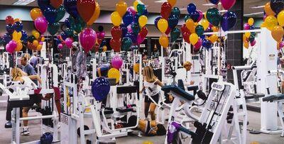 Charlie White, 'LA Fitness, Hollywood', 1999