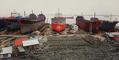 Edward Burtynsky, 'Shipyard #1, Qili Port, Zhejiang Province, China', 2004