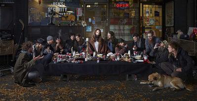 Dina Goldstein, 'Last Supper, East Vancouver', 2014