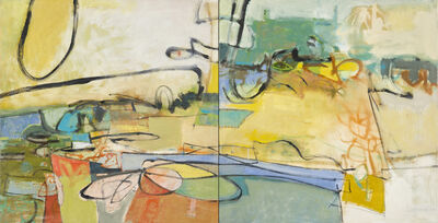 Leslie Allen, 'Sunny Day, Sunday Drive, Diptych', 2014