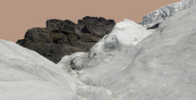 John Ruppert, 'Glacier with Pink Sky / Svinafellsjokull', 2012-2013